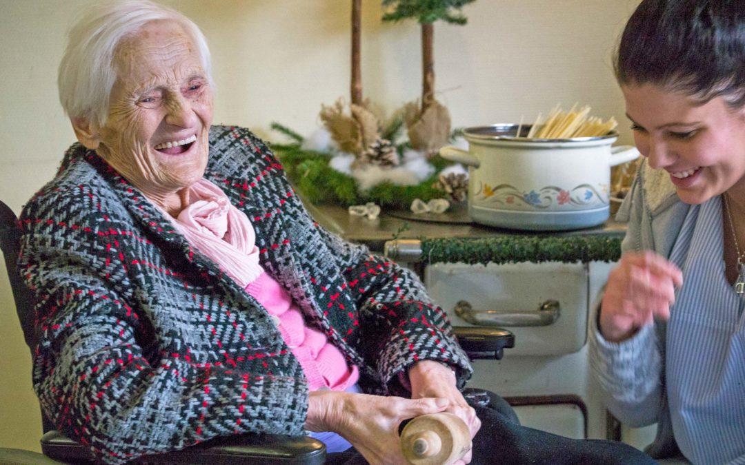 Hilfe, die ankommt – das Altenzentrum Eben-Ezer ist nicht allein